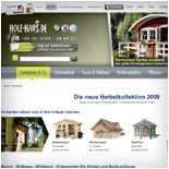 Gartenhaus, Sauna, Carport, Infrarotkabine, Holz-Swimmingpool, Spielturm aus Holz kaufen - holz-haus.de