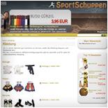 Kampfsportartikel online kaufen - Sportschuppen