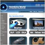 High-End HD-Beamer, Leinwand und Co. online kaufen - Heimkino-World.de