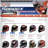 Motorradhelme, Integralhelme, Jethelme online kaufen - Koppox