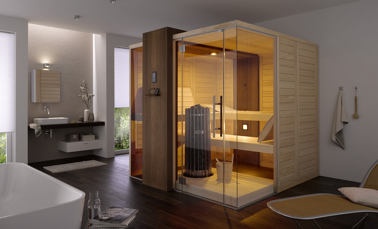 online heimsauna g nstig kaufen und selbst aufbauen heimsauna bauen. Black Bedroom Furniture Sets. Home Design Ideas