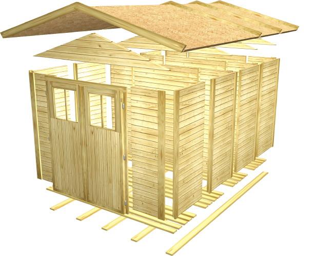 gartenhaus selber bauen schnell und einfach zum haus im garten wdpx wollweber web design. Black Bedroom Furniture Sets. Home Design Ideas