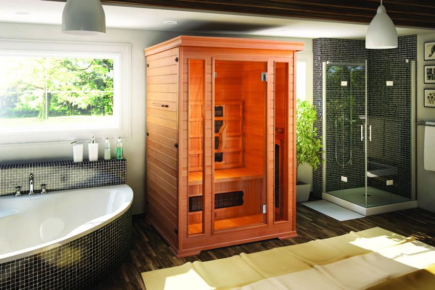 w rmekabine infrarotkabine bringt gesunde w rme als. Black Bedroom Furniture Sets. Home Design Ideas