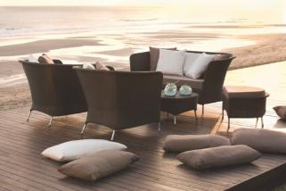 Balkonmöbel lounge holz  Rattan Gartenmöbel Lounge - Die neusten Rattan-Möbel für Garten ...