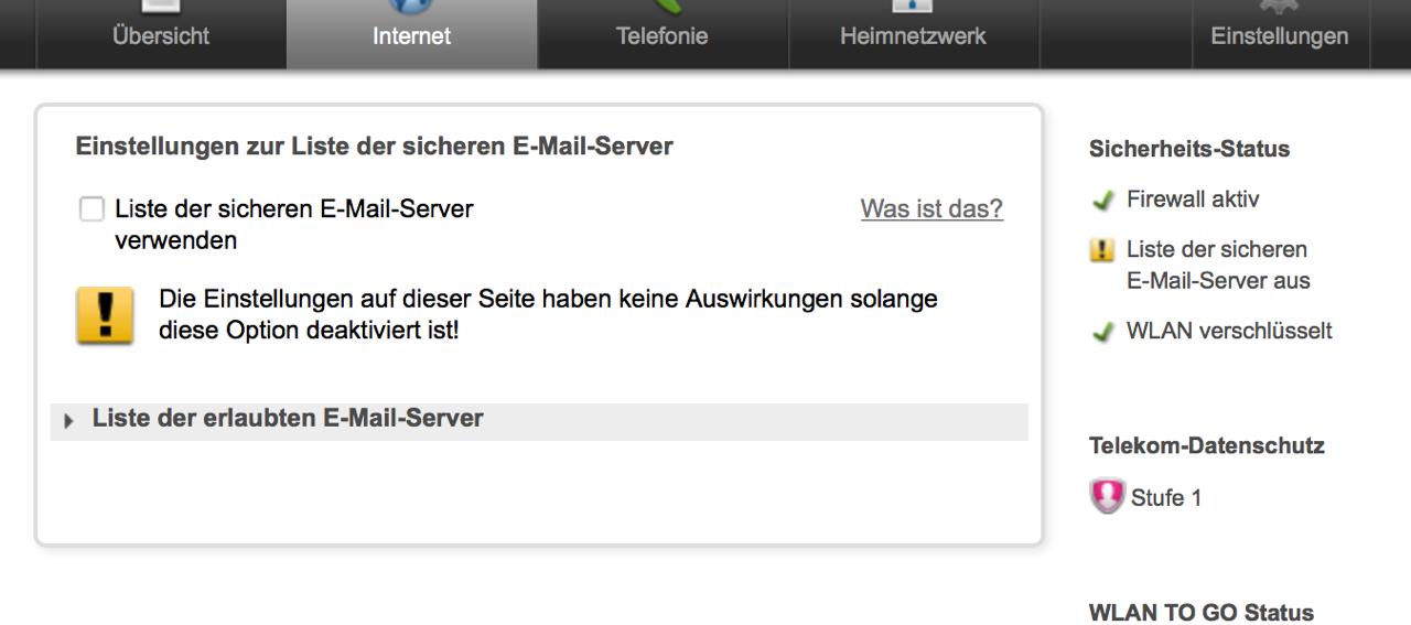 Probleme Beim Mail Versand Mit Dem Telekom Speedport Router